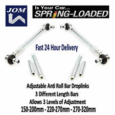 JOM Front Adjust Drop Links for Seat Leon TSi TFSi TDi (5F) 16V +4x4 09/2012-On