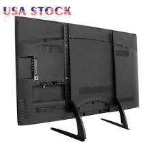 """New listing Universal Lcd Led Hd Tv Mount Table Top Tv Stand Base for 32"""" - 70"""" Flat Screen"""