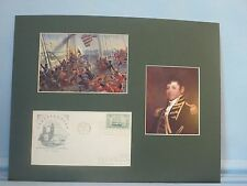 """USS Constitution """"Old Ironsides"""" and Captain Issac Hull plus First Day Cover"""
