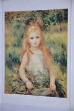 Carte Postale - Postcard - Tableau Auguste RENOIR - Enfant portant fleurs - 1888