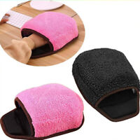 Heated Mouse Pad USB Powered Hand Warmer With Wrist  Support Warm For Computer