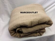 Ralph Lauren Home Estate 100% Cotton King Bed Blanket Taupe