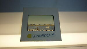 ORIGINAL 1960s PHOTOGRAPHIC SLIDE SURFERS PARADISE QLD, WATER SKIING EVENT 2