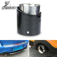 Carbon Fiber Steel Exhaust Pipe Tail Muffler Tip JCW for Mini Cooper F54-F56 LGL