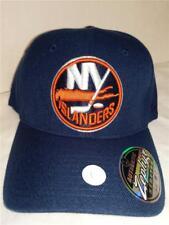 Neuf york Islanders Hommes Adulte TAILLE M/L Zephyr Bleu Extensible Chapeau