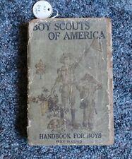 Boy Scouts of America Handbook 1919