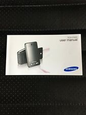 Original Samsung Tocco sgh-f480 user manual
