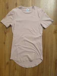 ZARA MAN T-Shirt Shirt Herren GR. M *Long Length* rosa