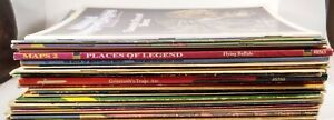 Lot/Collection of 22 RPG Books D&D AD&D Smoker Smell Monochrome Conan TSR JG
