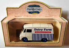 Lledo ProMotors Morris LD150 Dairy Farm Real Ice Cream Van, Boxed, Very Good
