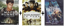 Dvd Maze Runner - La Trilogia Collection (3 Dvd) .....NUOVO