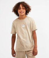 Kings Will Dream KWD Kids Junior Short Sleeve Crew Neck T-Shirt Sand Grayden