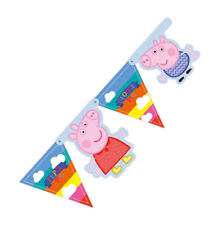 Banner Peppa Pig Card Party Banner Happy Birthday Fancy Dress Party Accessories