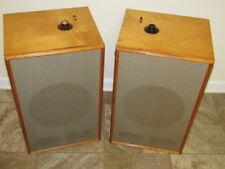 "Pair of EV - Electro Voice 12"" Full Range Speakers Model 12TRXB 16 Ohm - READ"