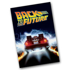 T    49762 BTTF DELOREAN TIME MACHINE TOWEL