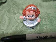 Fisher Price Little People Millenium Maggie Y2K Year 2000 Silver Costume Girl
