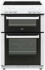 Bush BT60ELW Free Standing 59.5cm 4 Hob Single Electric Cooker - White. -Argos