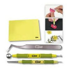 McGill PAPER Shaping Tools and Piercing Mat Kit Paper BLOSSOMS Flowers Crafts