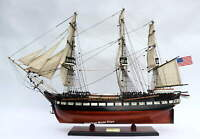 USS Constitution Tall Ship Full Assembled 35″ Handcrafted Wooden Model Ship
