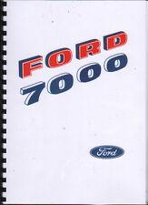 "Ford ""7000"" Tractor Operator Manual Handbook"
