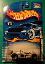 2001 HOT WHEELS FIRST EDITIONS CADILLAC LMP #13 SILVER LACE 1 OF 36