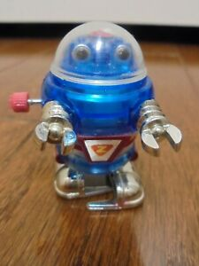 2008 Tomy Windup Blue Rascal Robot Lost In Space