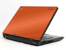 ORANGE Vinyl Lid Skin Cover Decal fits IBM Lenovo Thinkpad T400 Laptop