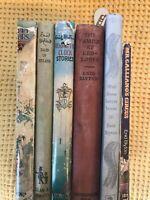 Set Of 6 Vintage First Edition Enid Blyton Books Toyland Gallianos Circus