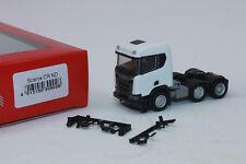 Herpa 309028  Scania CR XT Niederdach Bau-Zugmaschine 3-achs  1:87 H0 NEU in OVP