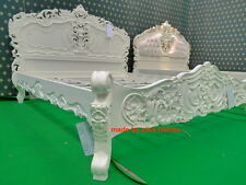 Bespoke Super King 6' Cream French style designer Rococo Bed ...... Top Quality