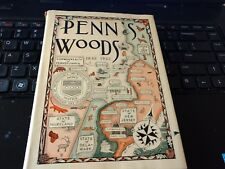 Rare Signed Penn's Woods Edward Wildman 1944
