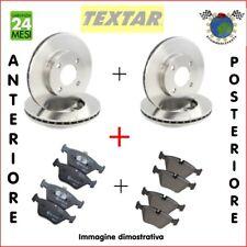 Kit Dischi e Pastiglie Ant + Post Textar AUDI A1 SEAT TOLEDO IV IBIZA V #kj