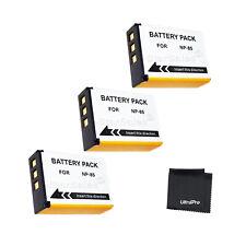 3x NP-85 Battery + Bonus f/ Fuji FinePix S1 SL240 SL260 SL280 SL300 SL305 SL1000