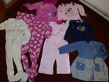 Lot of 8 Piece 3 T Children's Place Dora Minnie Disney Super Girl Dress EUC