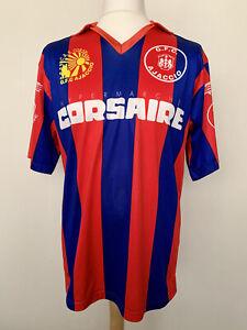 GFC Ajaccio 1991 home #11 Corsica France rare football shirt jersey maillot