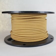 GOLD ~ Parallel Wire ~ Rayon Covered ~ Antique Style Cloth Lamp Cord ~ 25 Feet