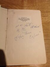 Brown's Pocket Book For Yachtmen Signed By Nova Espero Crew Aug 1949 Vintage HB