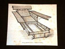 Esposizione di Filadenfia del 1877 Sezione della Cina Sedia di bambù