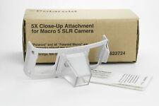 Polaroid 5x Close UP Attachment accessorio Macro 5 SLR film camera istantanea