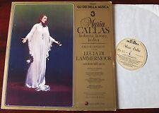 Maria Callas Lucia di Lammermoor Lp maniobrar i.m.i. (1981) 1957 casi como nuevo-Italia Milán