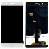 "PRO1 DISPLAY LCD+ TOUCH SCREEN PER HUAWEI P9 LITE 5,2"" BIANCO VNS-L31 VETRO NEW"