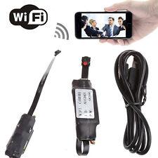 Wireless Spy Nanny Cam WIFI IP Pinhole DIY Digital Video Camera Mini Micro New