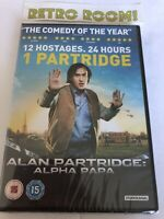 Alan Partridge - Alpha Papa (DVD, 2013) New & Sealed