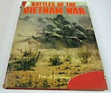 Battles of the Vietnam War by Patrick Jennings Hardcover Pre Owned Book!