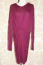 Robe violette neuve taille S marque Manoukian étiqueté à 79€