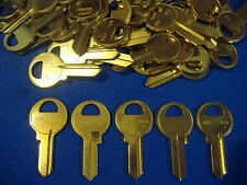 LOT OF FIFTY LOCKSMITH M1 KEY BLANKS FITS MASTER BRASS  MADE IN USA