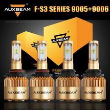 Auxbeam 9005+9006 LED Headlight Bulb for GMC Sierra 1500 2500 2000-2006 High+Low