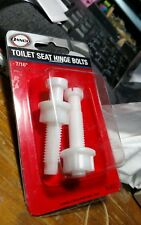 Danco  Toilet Seat Hinge Bolts  1-1/4 in. H x 5-1/4 in. L Plastic