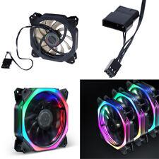 120mm PC computer silent case fan heatsink Computer cooler cooling fan with LED0