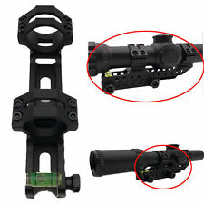 30mm Scope Ring 20mm Picatinny Rail Mount Cantilever Bubble Level for Rifle Hunt